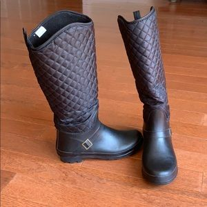 Capelli Quilted Rain Boots